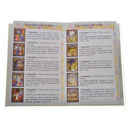 Libretto con rosario Santo Rosario Giovanni P. II 3