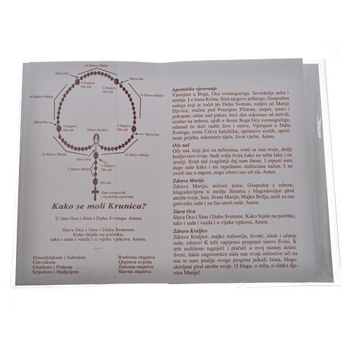 Libretto Santo Rosario Madonna Medjugorje 2