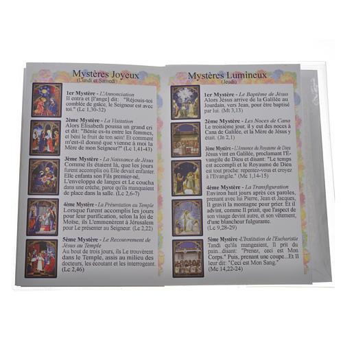 Libretto Santo Rosario Madonna Medjugorje 3