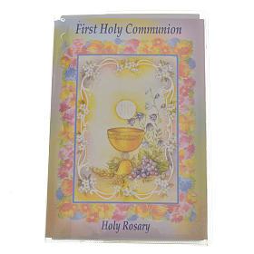 Livre avec chapelet First Holy Communion ANGLAIS s1