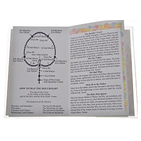 Libretto con rosario First Holy Communion INGLESE s3