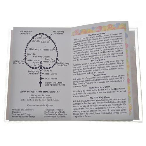 Libretto con rosario First Holy Communion INGLESE 3