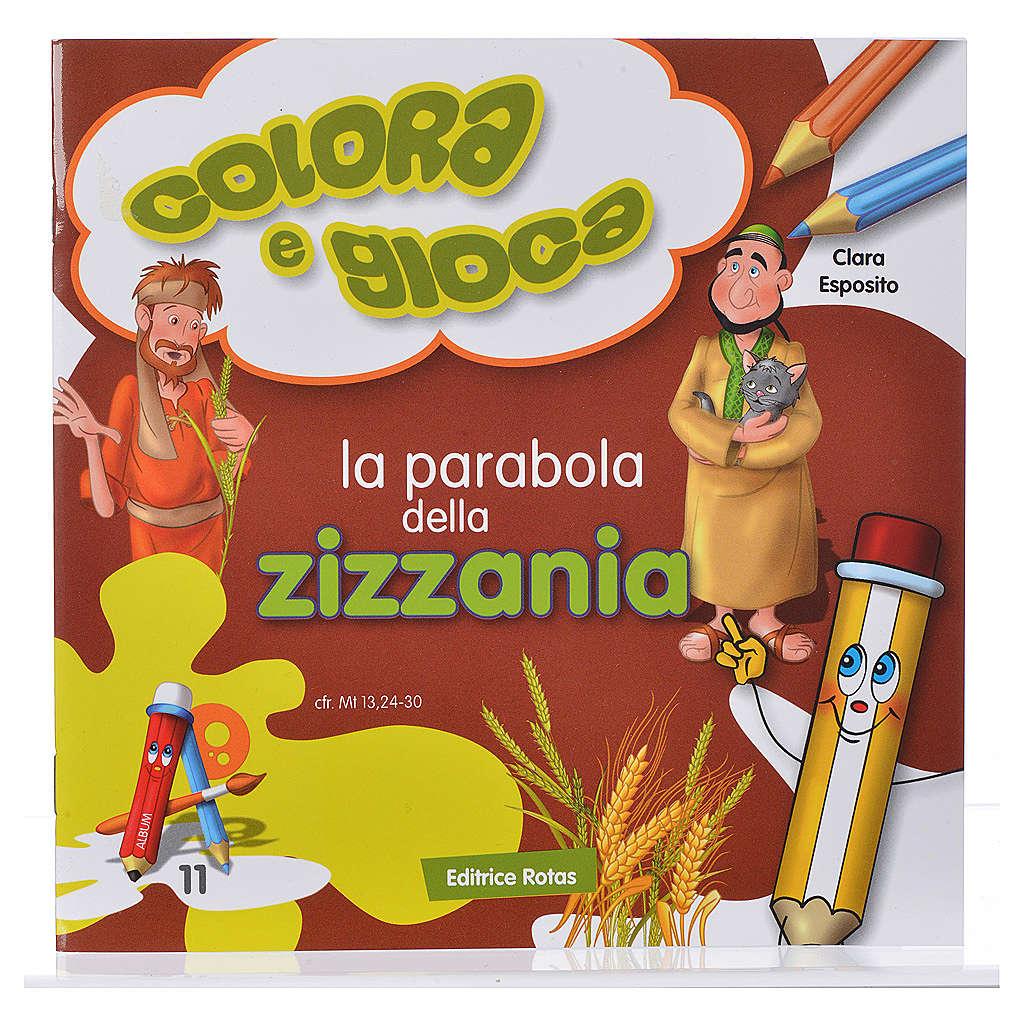 La parabola della zizzania da colorare 4