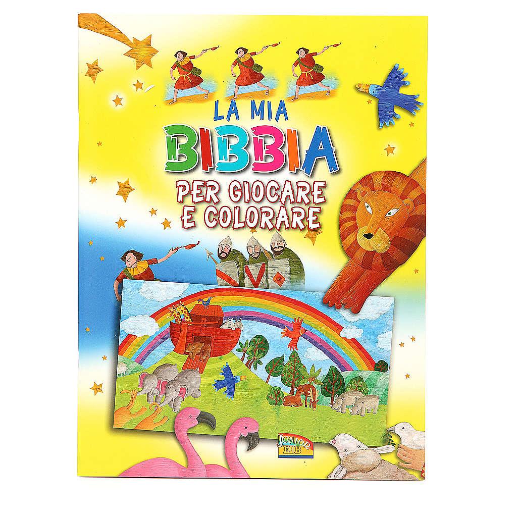 La mia Bibbia per giocare e colorare 4