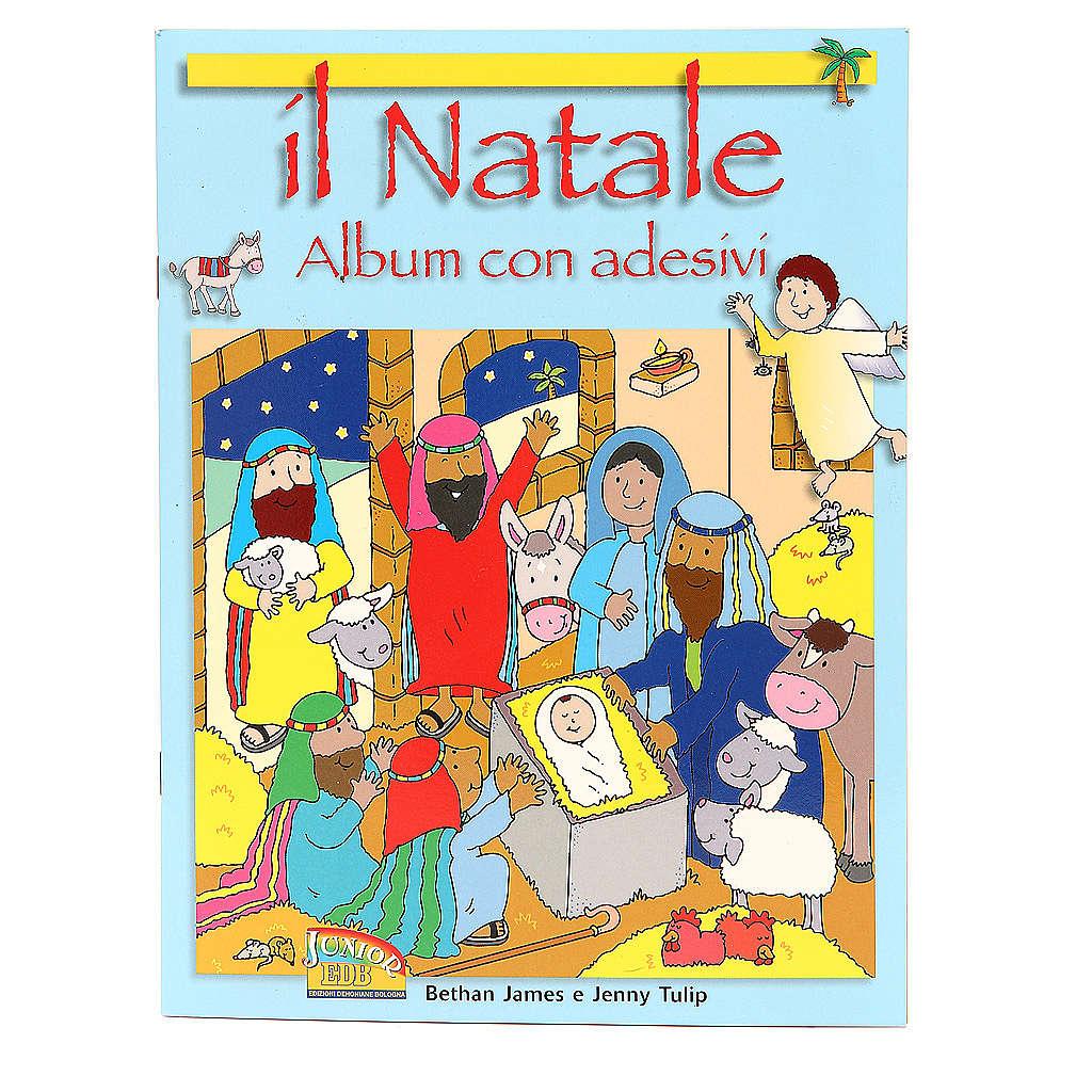 Il Natale. Album con adesivi 4