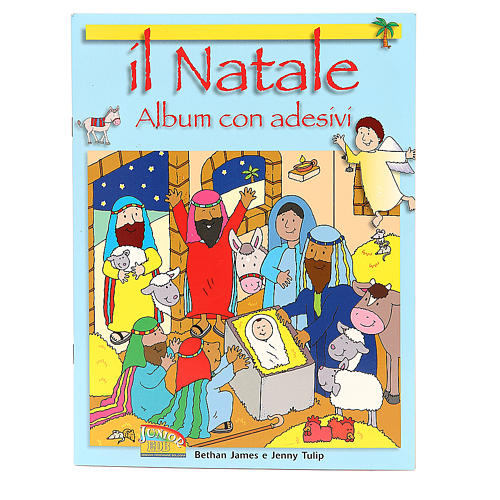 Il Natale. Album con adesivi 1