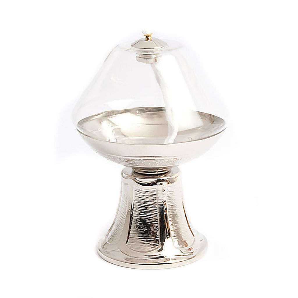Lampada vetro base nickel 3