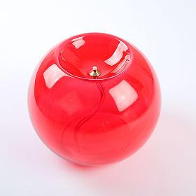 Lámpara cera líquida redonda s3