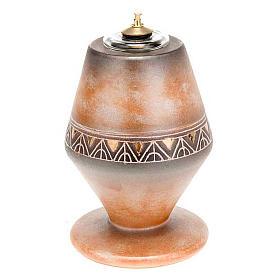 Lâmpadas e Lamparinas: Lâmpada cera líquida cónica cerâmica