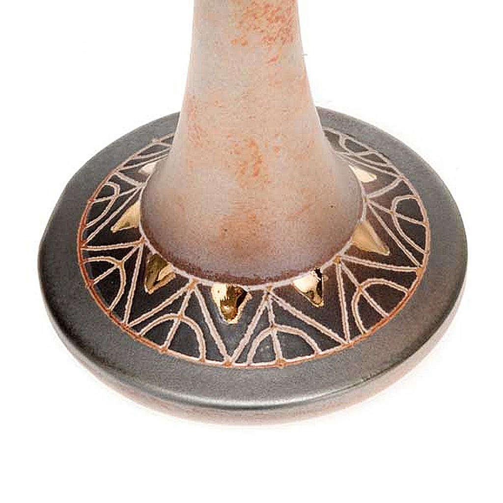 Lámpara pie cerámica 3