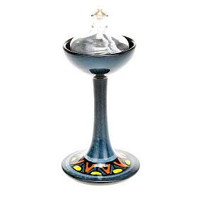 Lámpara pie cerámica s10