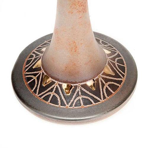 Lámpara pie cerámica 2