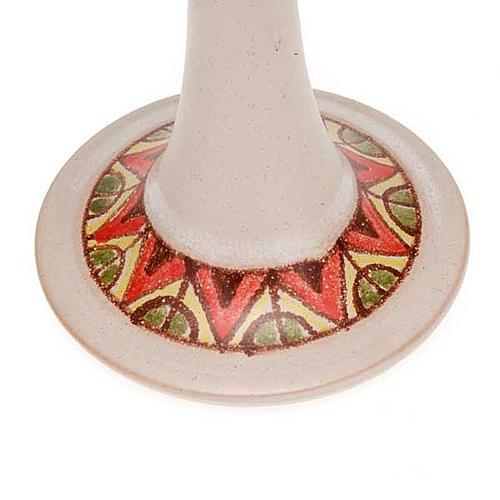 Lámpara pie cerámica 4