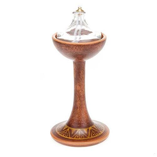 Lámpara pie cerámica 7