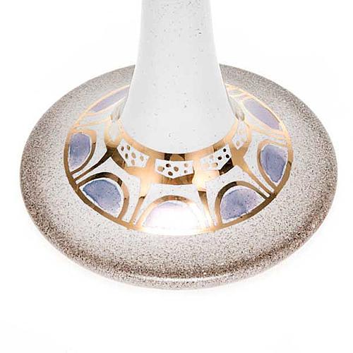 Lámpara pie cerámica 8