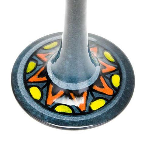 Lámpara pie cerámica 9