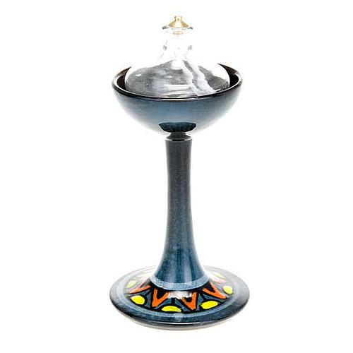 Lámpara pie cerámica 10