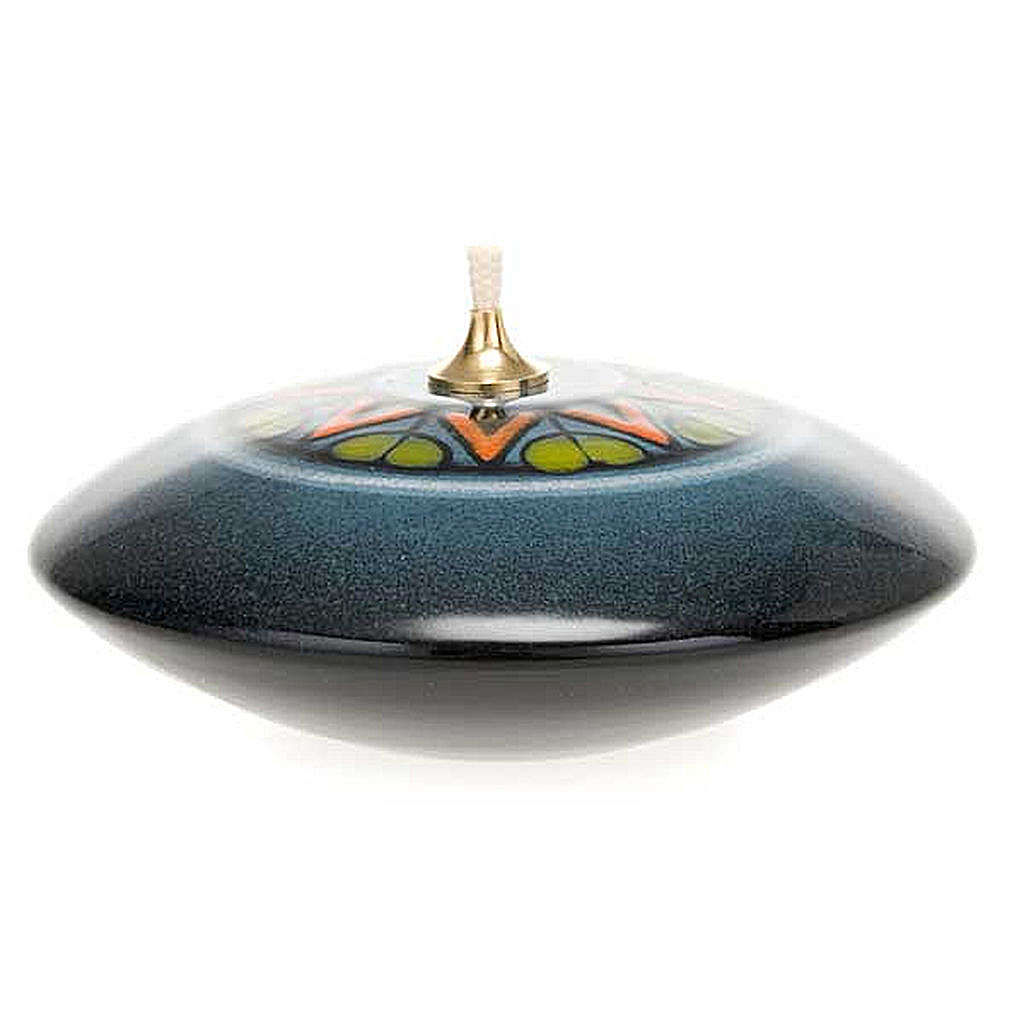 Lámpara redonda cerámica 3