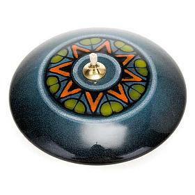 Lámpara redonda cerámica s6