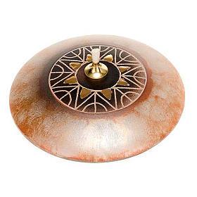 Lâmpadas e Lamparinas: Lamparina redonda cerâmica