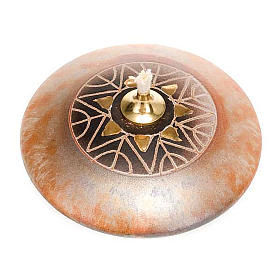 Small round ceramic lamp s3