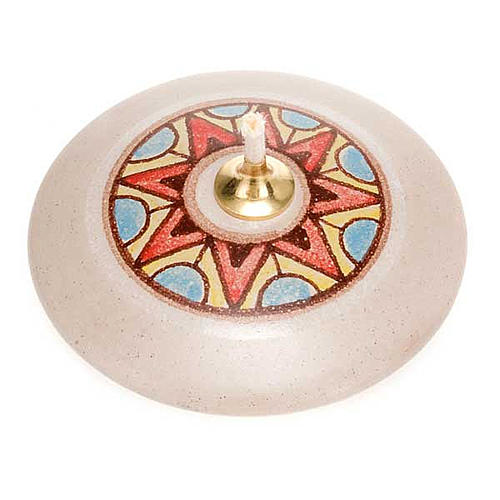 Lampada tonda mini ceramica 4