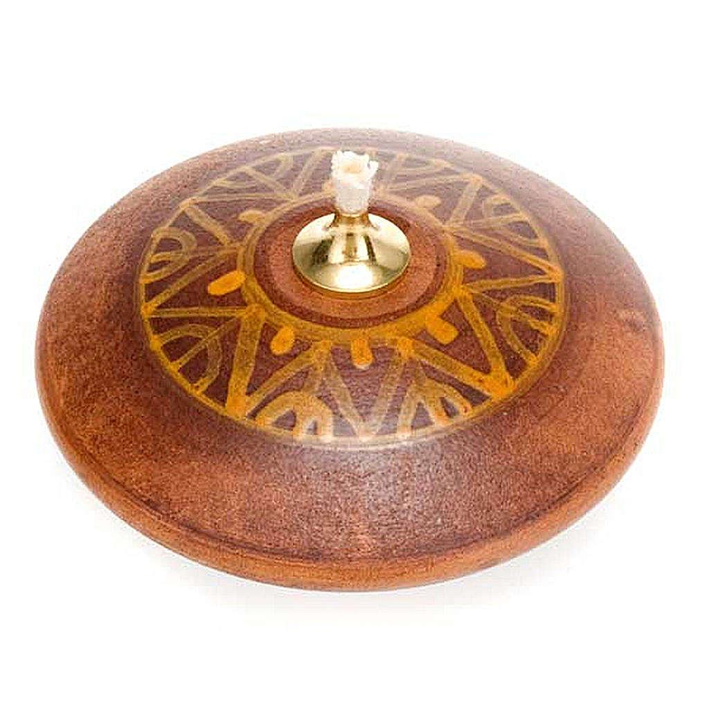 Lampka okrągła mini ceramika 3