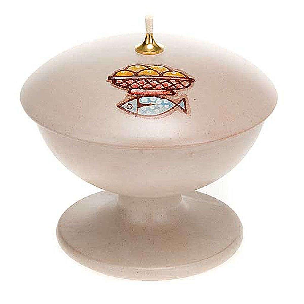 Lámpara con pie cerámica 3