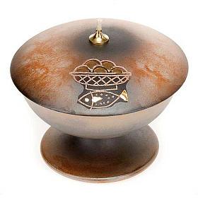Lámpara con pie cerámica s2