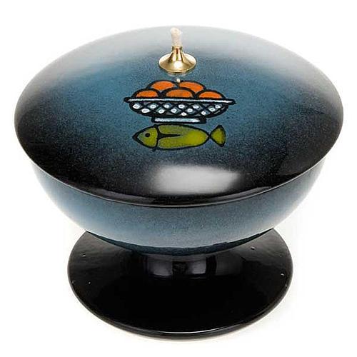 lampe avec support en céramique 4