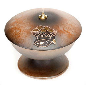 Lampada con piede ceramica s2