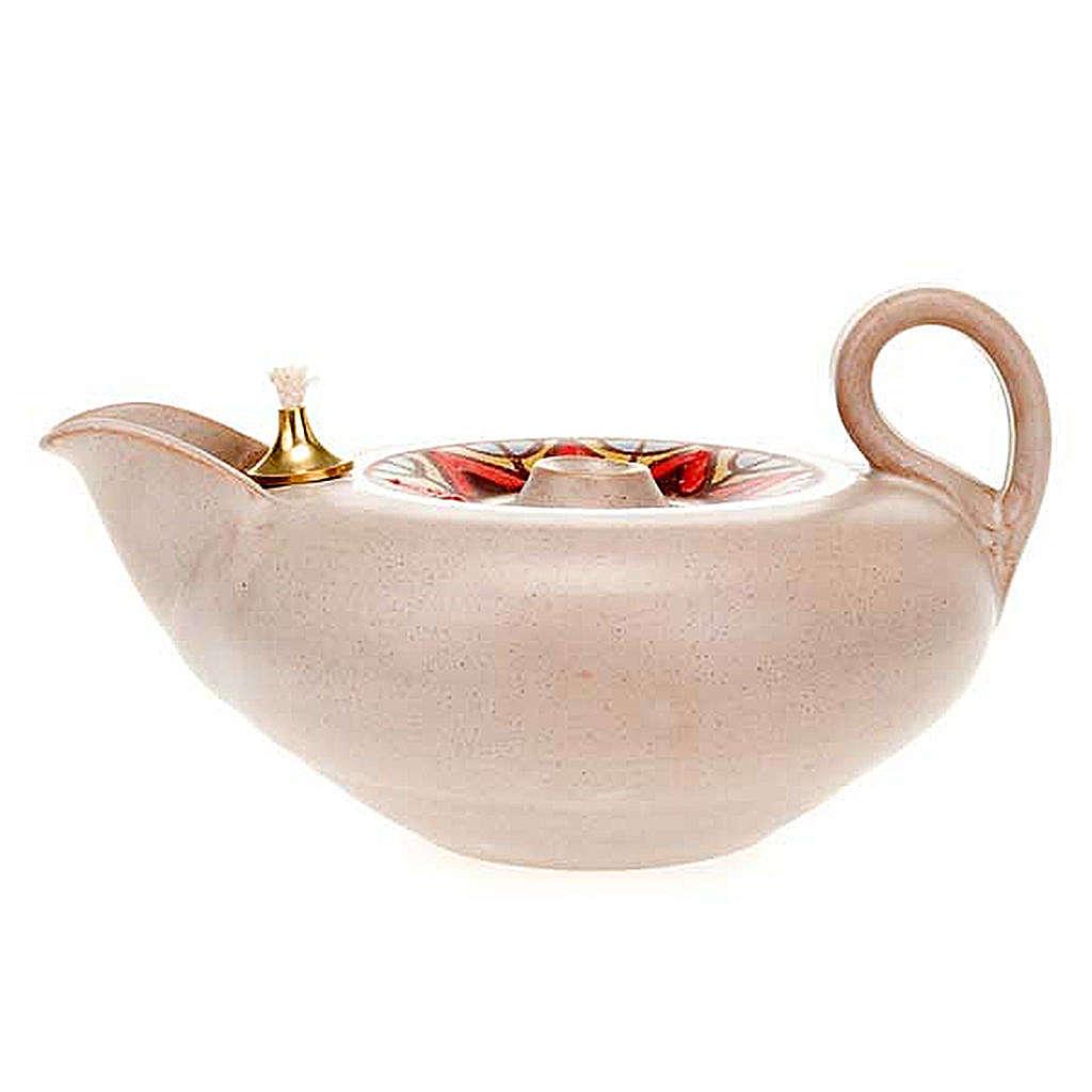 Lámpara votiva cerámica 3