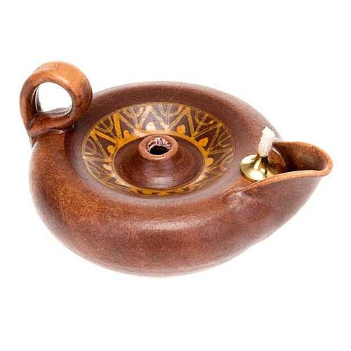 lampe votive en céramique 3