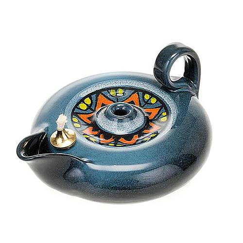 lampe votive en céramique 5