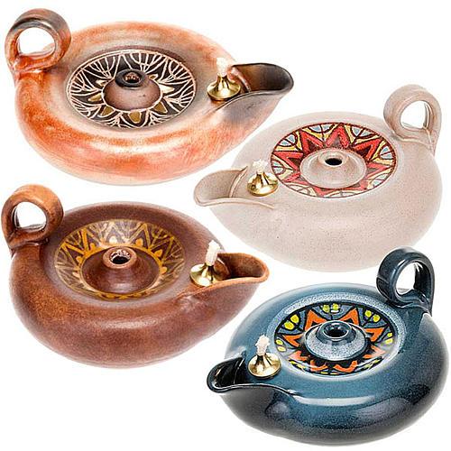 Lampada votiva ceramica 1