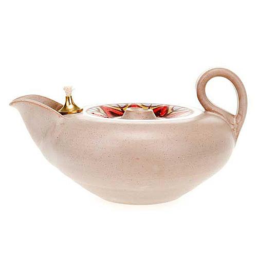 Lampada votiva ceramica 7