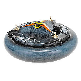Lampada SS Trinità ceramica s11