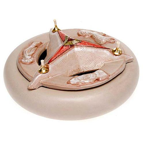 Lampada SS Trinità ceramica 10