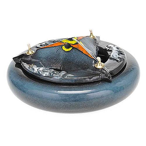 Lampada SS Trinità ceramica 11