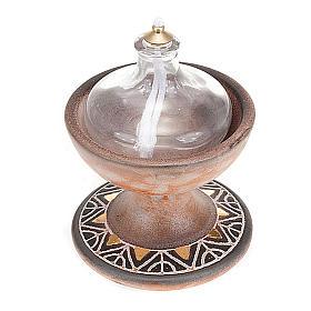 Lámpara copa cerámica s3