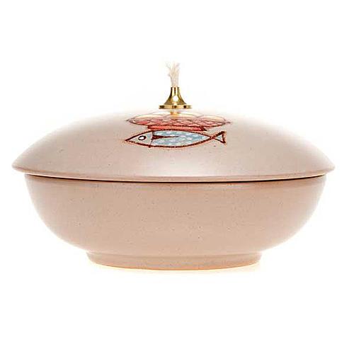 Bowl ceramic lamp 4