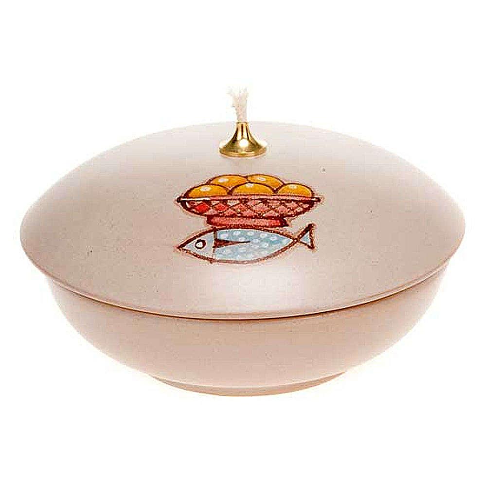 Lámpara cuenco cerámica 3