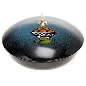 Lámpara cuenco cerámica s3