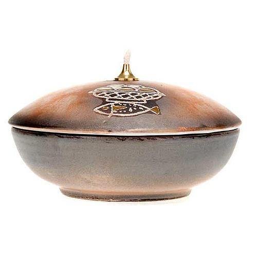 Lámpara cuenco cerámica 7