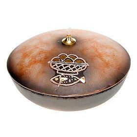 Lamparina taça cerâmica s6