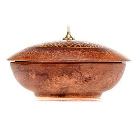 Lamparina taça cerâmica s8
