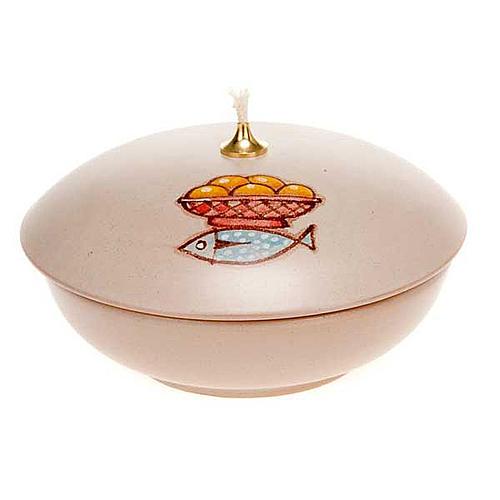 Lamparina taça cerâmica 5