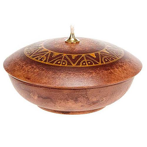 Bowl ceramic lamp 9