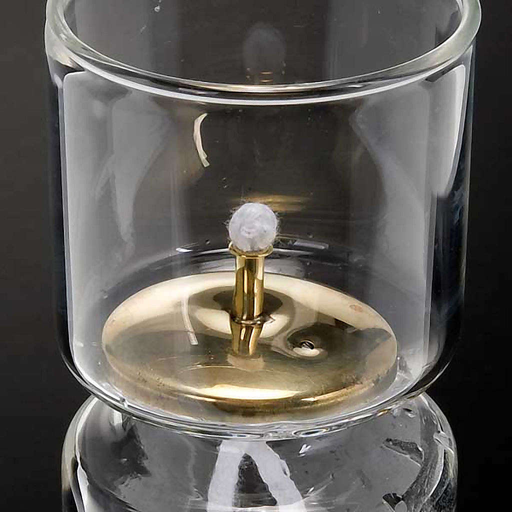 Liquid wax altar lamp 3
