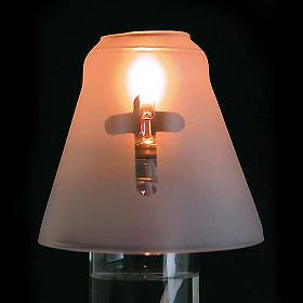 Lámpara de cera líquida de altar s4